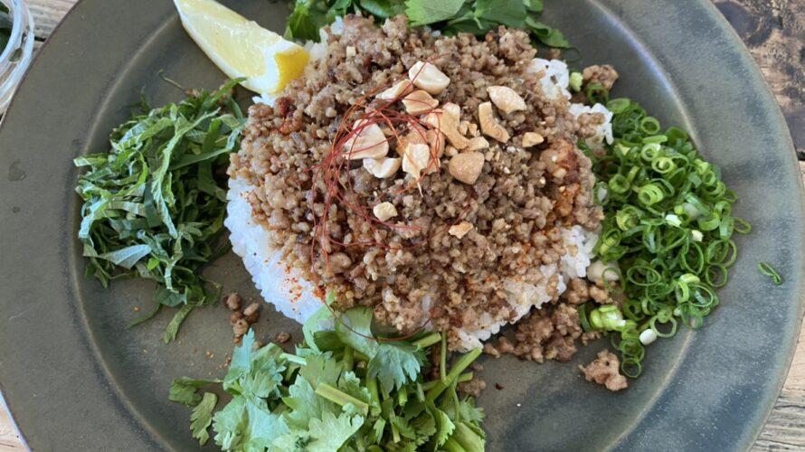 【簡単】少ない材料で鎌倉の人気カフェ『オクシモロン』のエスニックそぼろカレーを再現するレシピ